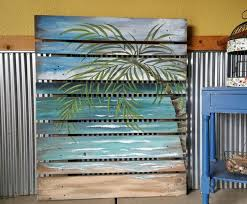 diy recycled pallet wood wall recycled things