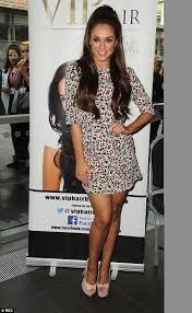 pattison hair extensions geordie shore s pattison wears colourful leopard print mini