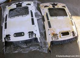 Interior Car Roof Liner Repair Diy Sagging Headliner Fabric Replacement On A Mk5 2006 Vw Jetta