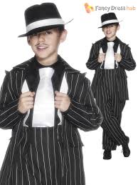 halloween 1920s costumes kids gangster zoot pinstriped suit 1920s 30s boys childrens fancy