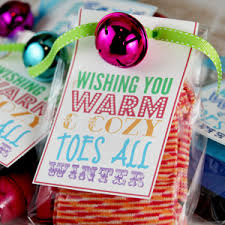 cozy toes holiday printable girlfriends secret santa and funky