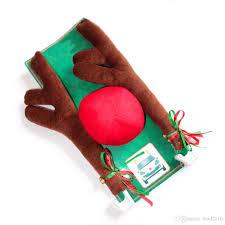 car reindeer antlers 2017 new reindeer antlers and nose car kit christmas
