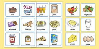 picture cards sen communication cards food sen communication cards food