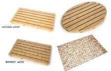Cork Mats For Bathrooms Bamboo Bath Mat Ebay