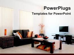powerpoint template a collection of stylish furniture and a