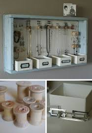 Jewellery Organiser Cabinet Best 25 Hanging Jewelry Organizer Ideas On Pinterest Diy