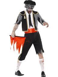 zombie matador spanish bull fighting fancy dress costume halloween