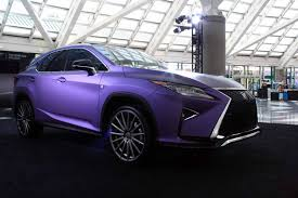 purple lexus gallery lexus brings army of modified cars to the la auto show