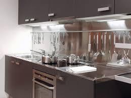 luxurious modern kitchen with dark brown wooden cabinet combined