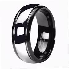 Black Wedding Rings For Her by Popular His And Her Black Wedding Ring Set Buy Cheap His And Her
