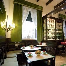 dark green living room