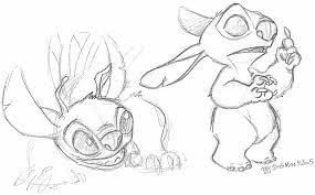 lilo u0026 stitch fanart pencil doodles three stitches mct u0027s