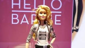 barbie doll internet connected chat kids bbc