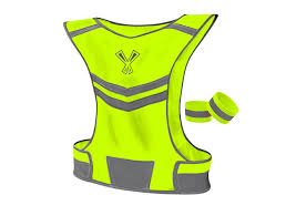 hi vis cycling jacket reflective vest night vest vest for running walking cycling