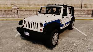 police jeep wrangler jeep wrangler rubicon police 2013 els para gta 4