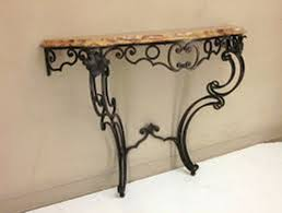 Wrought Iron Console Table Wrought Iron Console Table With Drawers Beblincanto Tables