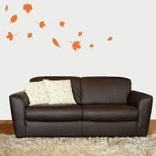 polka dots shapes tweetheartwallart falling autumn leaves vinyl wall decal