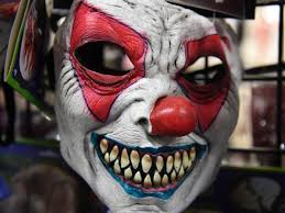 a father put on a clown mask to punish his 6 year old now he u0027s