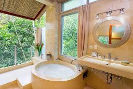 manuel antonio villa rental casa fantastica family vacation home ma 05 open air bath with separate tub and shower