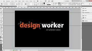 visitenkarten design erstellen visitenkarte in indesign erstellen tutorial vorlage teil 1 2