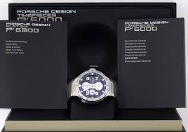 porsche design flat six porsche design flat six chronograph black steel bracelet