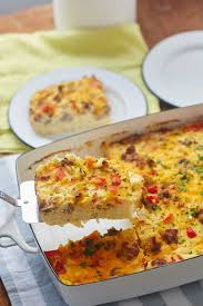 recipe cheesy hashbrown breakfast casserole kitchn