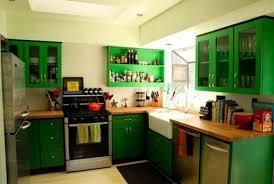 Dark Green Kitchen Cabinets Green Building Kitchen Cabinets Brown Natural Wooden Modern