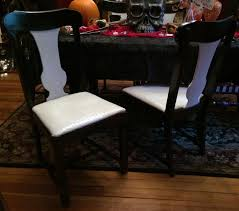 home decor trends over the years dining room creative spray painting dining room chairs decor
