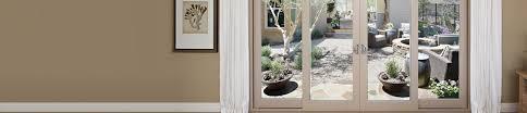 Sliding Vinyl Patio Doors by French Sliding Doors Wood Vinyl U0026 Fiberglass Milgard Windows