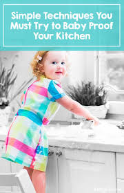Baby Proof Kitchen Cabinets 31 Best Baby Proofing Images On Pinterest Baby Safety
