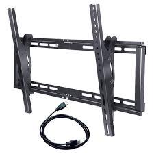 tv wall mount 400 x 400 amazon com sunyear tilting low profile tv wall mount bracket for