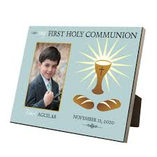 holy communion gifts for boys holy communion personalized 4x6 picture frame for boys