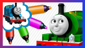 percy thomas friends coloring book learn colors