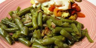 southern green beans and bacon recipe genius kitchen