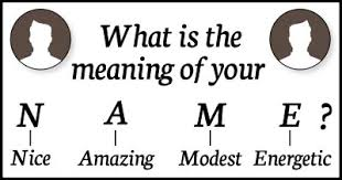 what is the meaning of is the meaning of your name