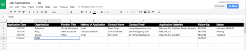 job applications tracking and hacking contactmonkey
