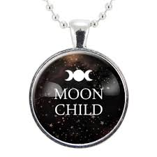 gothic moon necklace images Moon child necklace gypsy moon jewelry gothic quote witch jpg