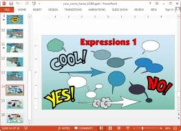 comic book template powerpoint animated comic template for