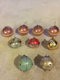 vintage west germany mercury glass bell ornaments 25 69