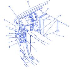 chevrolet astro lt 2001 rear electrical circuit wiring diagram