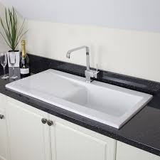 white top mount kitchen sink home design ideas intended for
