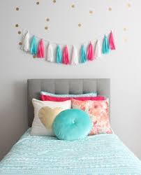 guirlande deco chambre 1001 projets et idées géniales de tête de lit à faire soi même