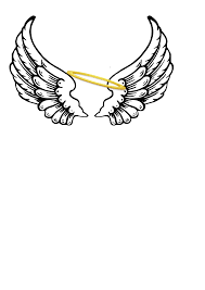 angel halo drawings cliparts co