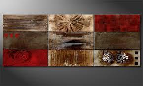 Wohnzimmer Rot Braun Wandbilder Handgemalt Beste Große Wandbilder Wohnzimmer Surfinser