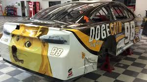 Doge Meme Car - doge at dega dogecoin sponsors race car all tech considered npr