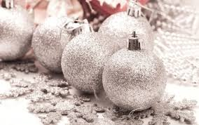 silver glitter ornaments pictures photos and images for