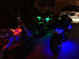 led strip lights for motorcycles motorcycle led light kits mysportbikemods