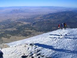 Mexico Volcano Map by Mexico Climbing News Rmi Expeditions Blog
