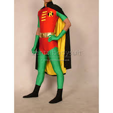 series robin costume tim drake version spandex superhero zentai suits