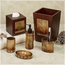 Bear Bathroom Accessories by Pine Cone Bathroom Accessories Home Design Gallery